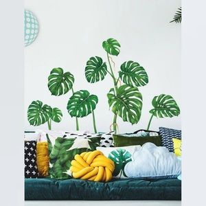 ✨JUST IN!✨Philodendron Leaf Decal Stickers wall